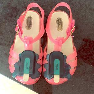 Girls mini Melissa sandals